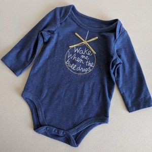 ☮️ First Impressions New Year's Baby Bodysuit